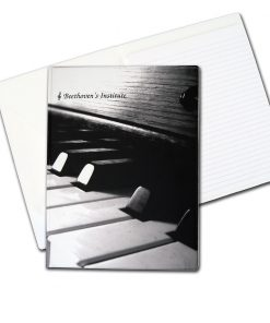 desk folder piano keys