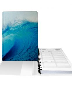 Daily Planner Wave Notebook