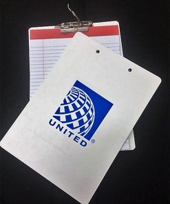 heavy duty clipboard poly custom printed