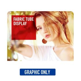 8' EZ Tube Display (Single-Sided) Graphic Only